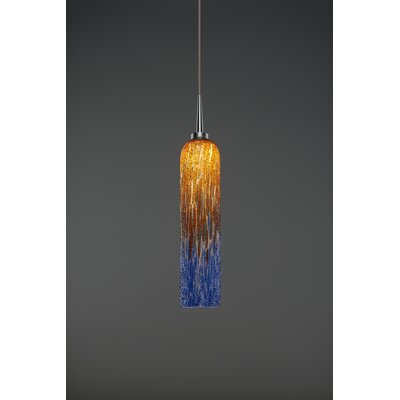 Chianti 1-Light Mini Pendant Finish: Matte Chrome