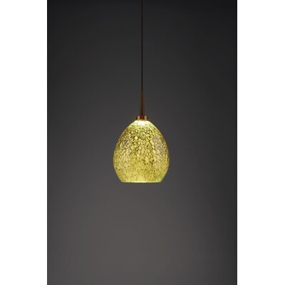 Vibe 1-Light Globe Pendant Finish: Bronze