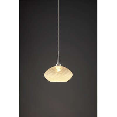 Pandora 1-Light Globe Pendant Finish: Matte Chrome