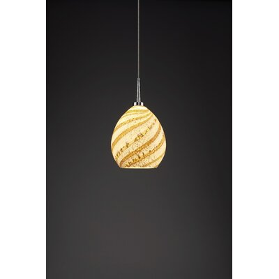 Vibe 1-Light Globe Pendant Color: Chrome