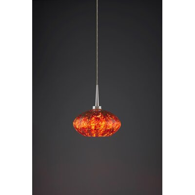 Pandora 1-Light Globe Pendant Color: Matte Chrome
