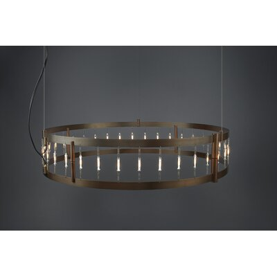 Flight 39-Light Foyer Pendant
