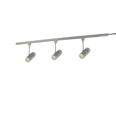 Eco 3-Light Track Light Kit Finish: Matte Silver
