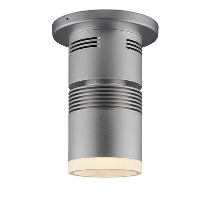 Z15 1-Light Flush Mount Color: Black