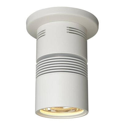 Z15 1-Light Flush Mount with a 40 Degree Diffuse Reflector, 3000K, 1360 Lumens, 98 CRI, and 17W Finish: White