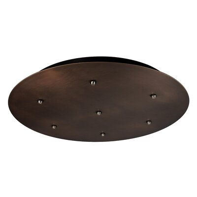 Bobo 7-Light Cascade Pendant Finish: Bronze, Shade Color: Clear