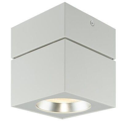 Surface 1-Light Flush Mount Finish: White