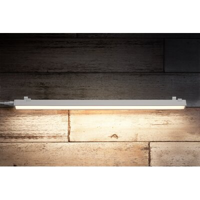 Saber 24 Under Cabinet Bar Light Finish: White, Bulb Color Temperature: 2700K