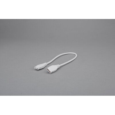 Saber Flexible Connector Finish: White, Size: 72
