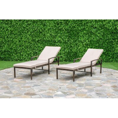 Chapel Hill Chaise Lounge Set Cushion - Product photo