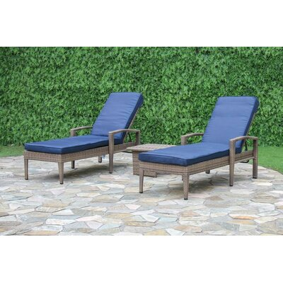 Fitzpatrick 3 Piece Chaise Lounge Set