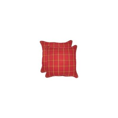 Lindon Outdoor Throw Pillow Size: 20 x 20