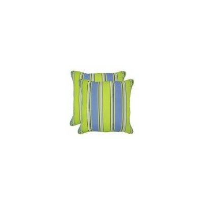 Fiore Outdoor Throw Pillow Size: 20 x 20