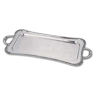 Silver Plated Giftware Shell And Gadroon 25 Cocktail  Tray
