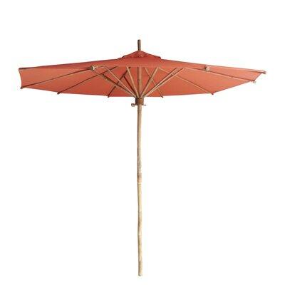 7 Market Umbrella Fabric: Dark Pottery