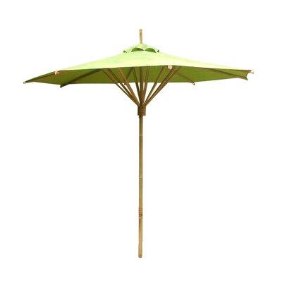 7 Market Umbrella Fabric: Dark Green