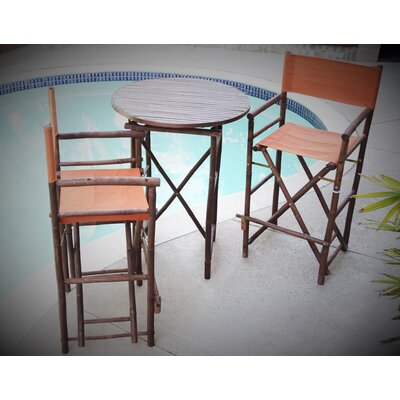 3 Piece Dining Set Fabric: Pottery