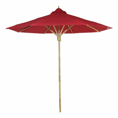 8 Market Umbrella Color: Red