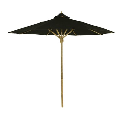 8 Market Umbrella Color: Black