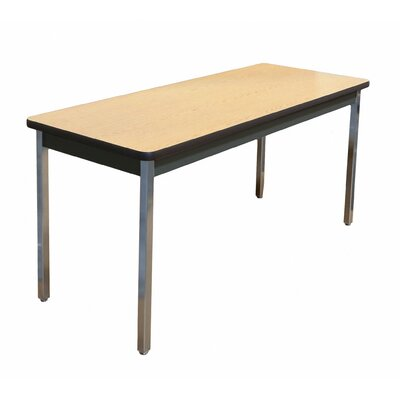 Training Table Size: 30 H x 54 W x 24 D, Tabletop Finish: Oak