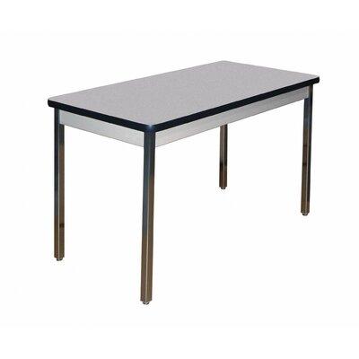 """Allied Plastics Utility Table - Size: 30"""" H x 60"""" W x 30"""" D, Top Finish: Grey Nebula"""