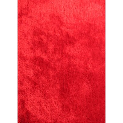 Arriaga Modern Hand Tufted Red Area Rug