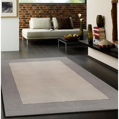 Lacourse Hand-Tufted Light Beige Area Rug