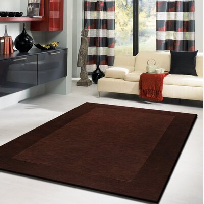 Westerberg Hand-Tufted Brown Area Rug