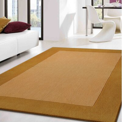Westerberg Hand-Tufted Gold Area Rug