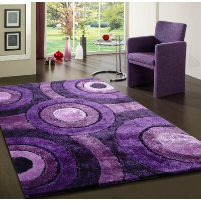 Sigiriya Hand-Tufted Lavender Indoor Area Rug
