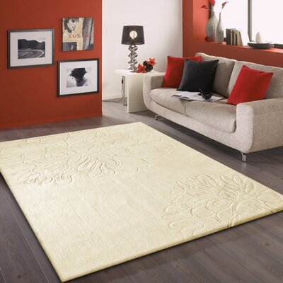 Mcmillan Hand-Tufted Beige Area Rug