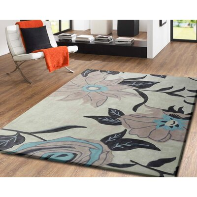 Whetzel Hand-Tufted Beige Indoor Area Rug