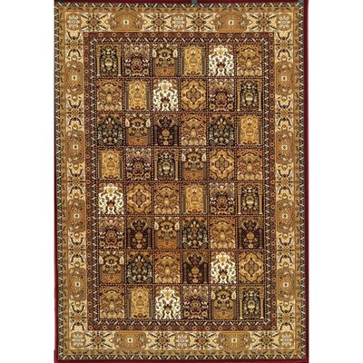 Mona Lisa Burgundy Design A Rug