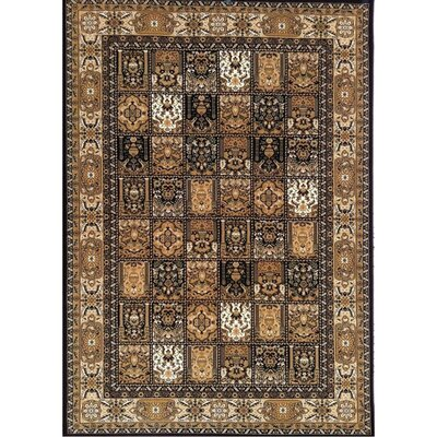 Mona Lisa Brown Design A Rug Rug Size: 54 x 75