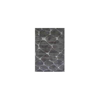 Transition Gray Area Rug Rug Size: 76 x 102