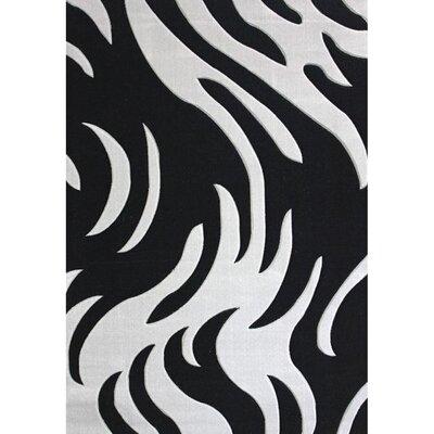 Geo Grey Area Rug Rug Size: 79 x 106