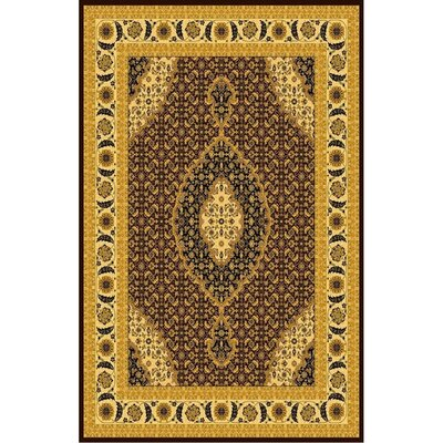 Mona Lisa Brown Rug Rug Size: 54 x 75