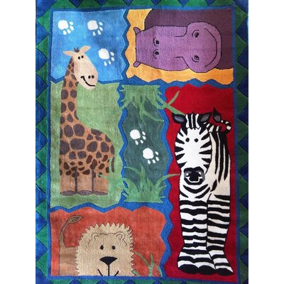 Zoomania Zoo Children's Area Rug