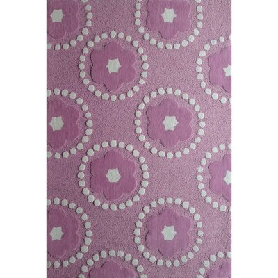Zoomania Pedals Purple Childrens Area Rug