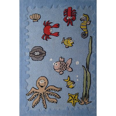 Zoomania Sea World Children's Area Rug