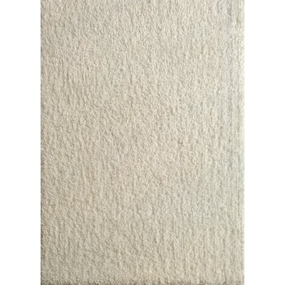 Harmony White Shag Area Rug Rug Size: Rectangle 5 x 7
