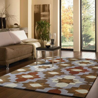 Vivid Idoor/Outdoor Area Rug Rug Size: Rectangle 5 x 7