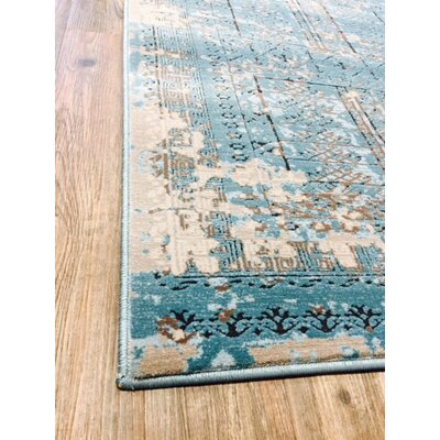 Como Blue Indoor/Outdoor Area Rug Rug Size: 5 x 8