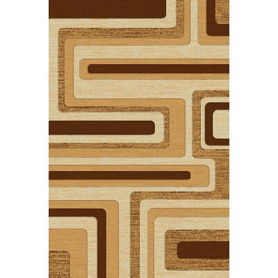 LifeStyle Beige Indoor/Outdoor Area Rug Rug Size: 5 x 8