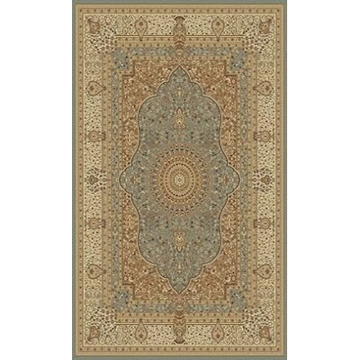 Tabriz Gray Indoor/Outdoor Area Rug Rug Size: 8 x 11