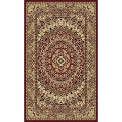 Tabriz Red Area Rug Rug Size: 5 x 8