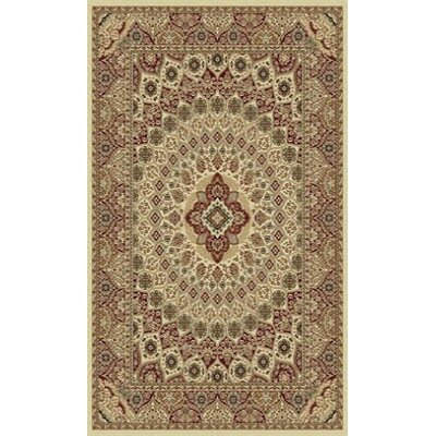 Tabriz Cream Indoor/Outdoor Area Rug Rug Size: 8' x 11'