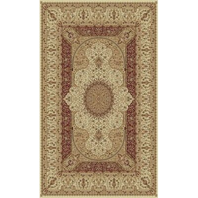 Tabriz Cream Indoor/Outdoor Area Rug Rug Size: 8 x 11