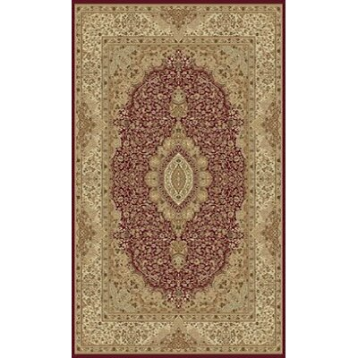 Tabriz Red Area Rug Rug Size: 8 x 11