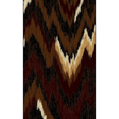 LifeStyle Brown Area Rug Rug Size: 5 x 8